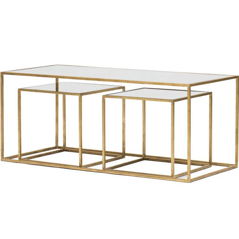 Well Known Bronze Coffee Table Glass Top Pertaining To Coffee Table : Amazing Glass End Tables White Square Coffee Table (View 17 of 20)