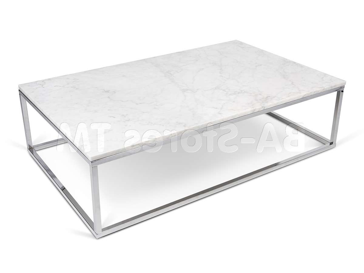 Well Known Chrome Leg Coffee Tables Within Coffee, Side & End Tables: Prairie Coffee Table (View 18 of 20)
