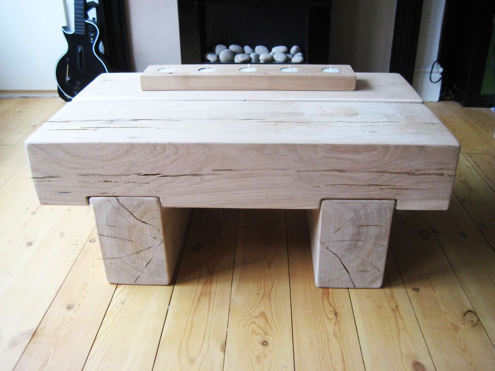 Well Known Chunky Oak Coffee Tables Pertaining To Handmade Bespoke Furniture – The Cool Wood Company (View 4 of 20)