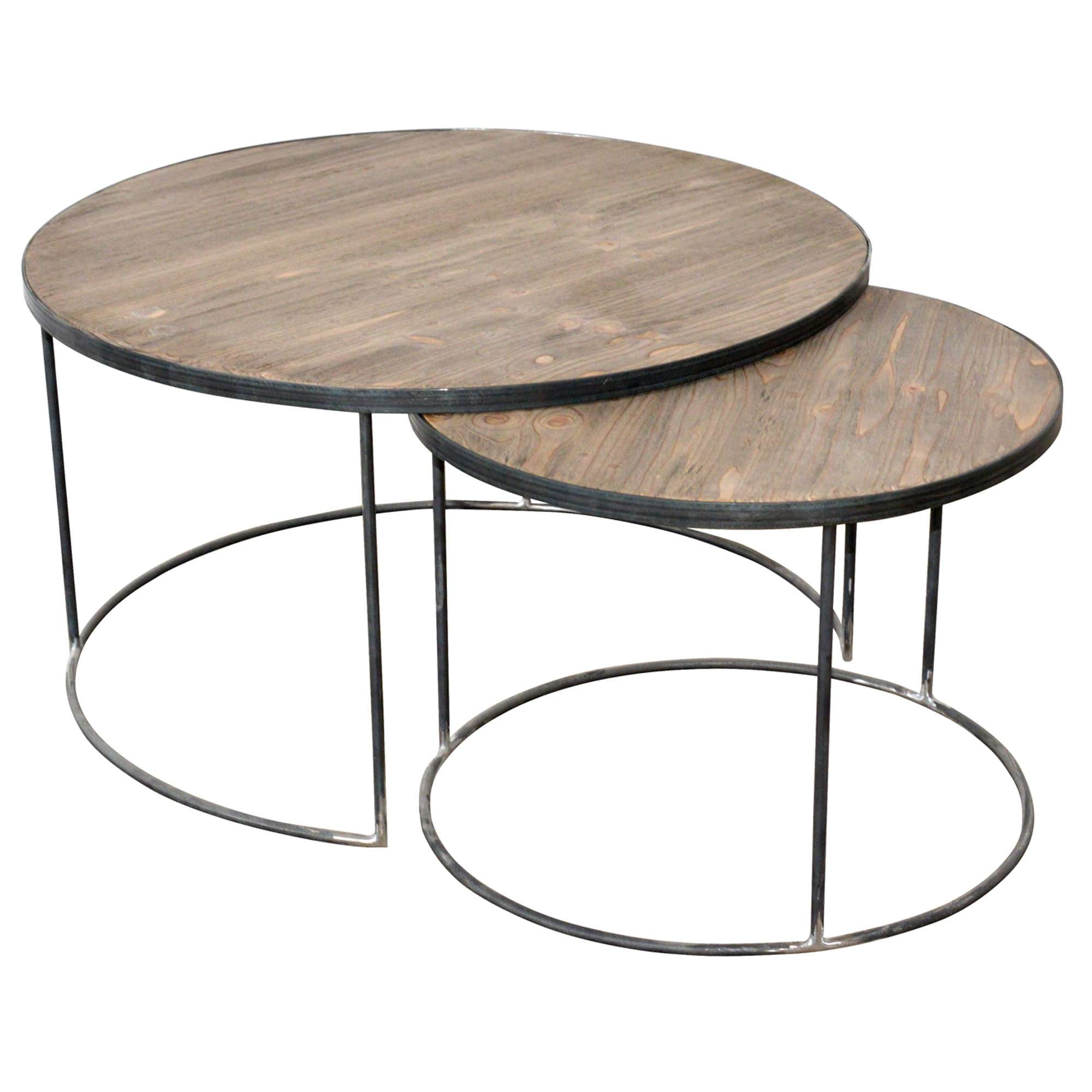 Well Known Circular Coffee Tables Intended For Good Round Coffee Table Set 55 In Home Decoration Ideas With Round (View 3 of 20)