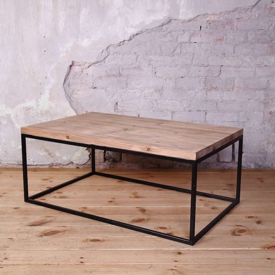 [%Well Known Coffee Table Industrial Style Pertaining To Industrial Style  Coffee Table U2013 [