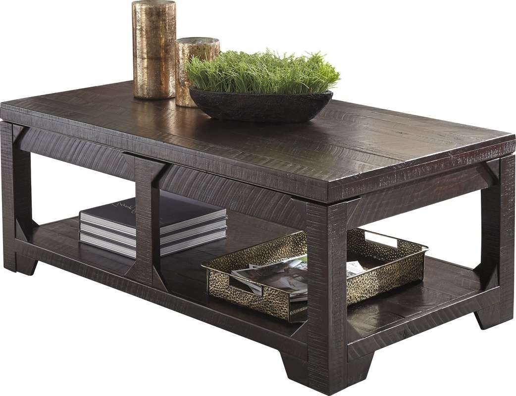 Well Known Coffee Table With Raised Top Intended For World Menagerie Skylar Lift Top Coffee Table & Reviews (View 16 of 20)