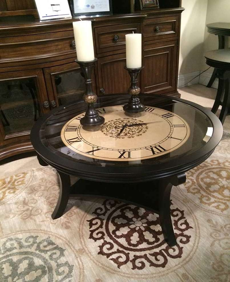 Well Known Coffee Tables With Clock Top In Table Clock (View 19 Of 20)