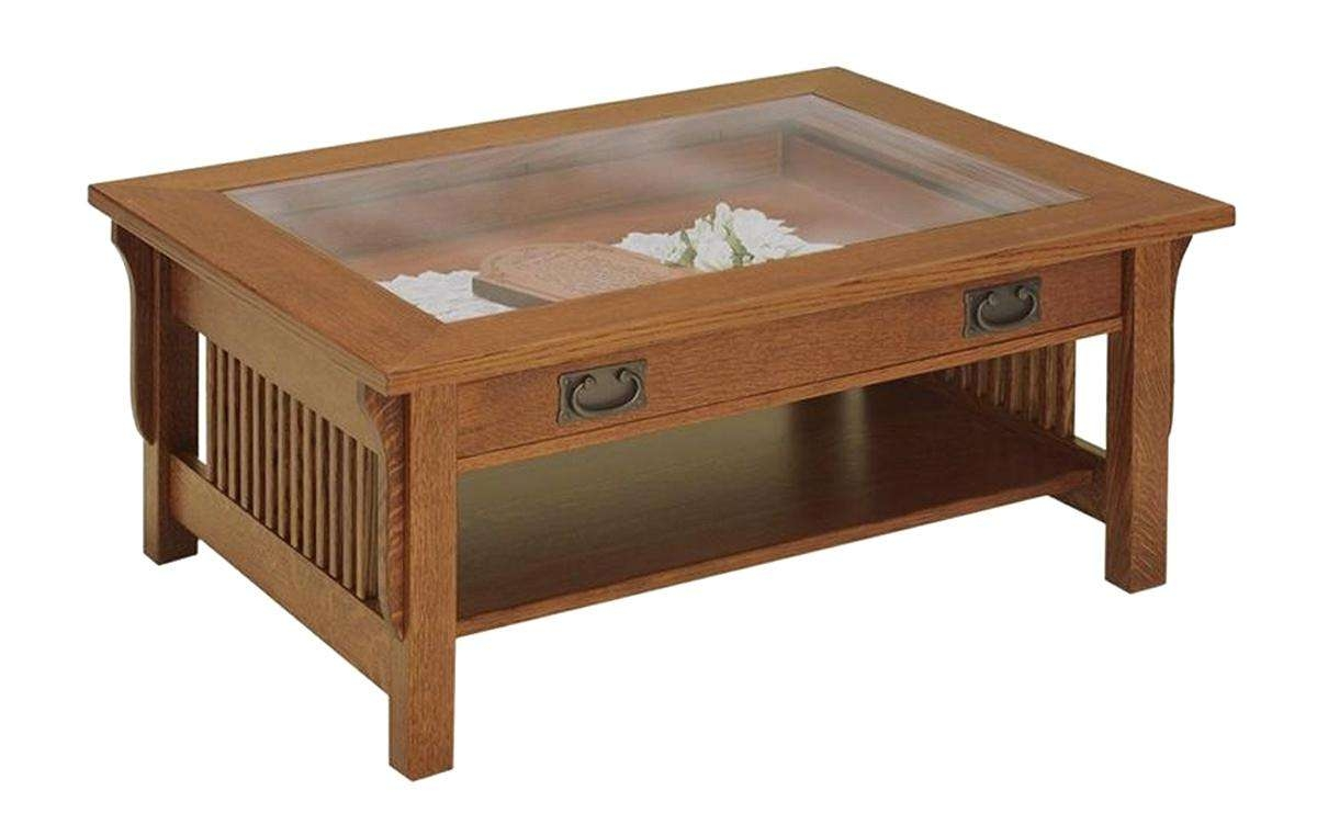 Well Known Coffee Tables With Glass Top Display Drawer Inside Coffee Table Glass Top Display With Drawers Uk – Thewkndedit (View 11 of 20)