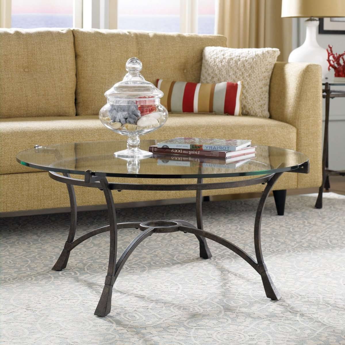 Well Known Coffee Tables With Shelf Underneath For Coffee Table : Round Coffee Table With Chairs Underneath Round (View 16 of 20)