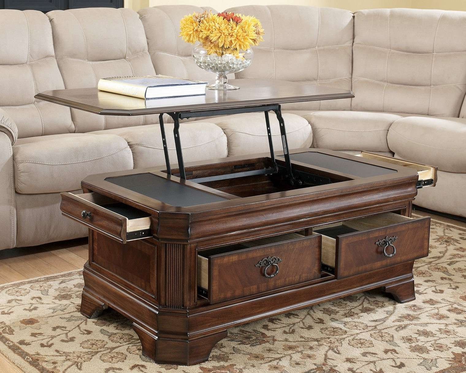Well Known Cool Coffee Tables Intended For Cool Wood Coffee Tables (View 9 of 20)