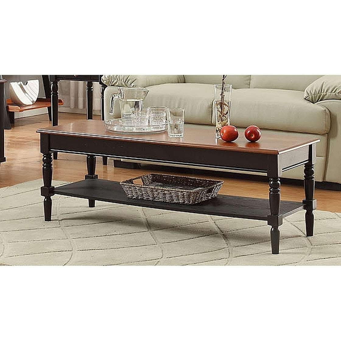 Well Known French Country Coffee Tables Within Convenience Concepts French Country Coffee Table – Free Shipping (View 13 of 20)