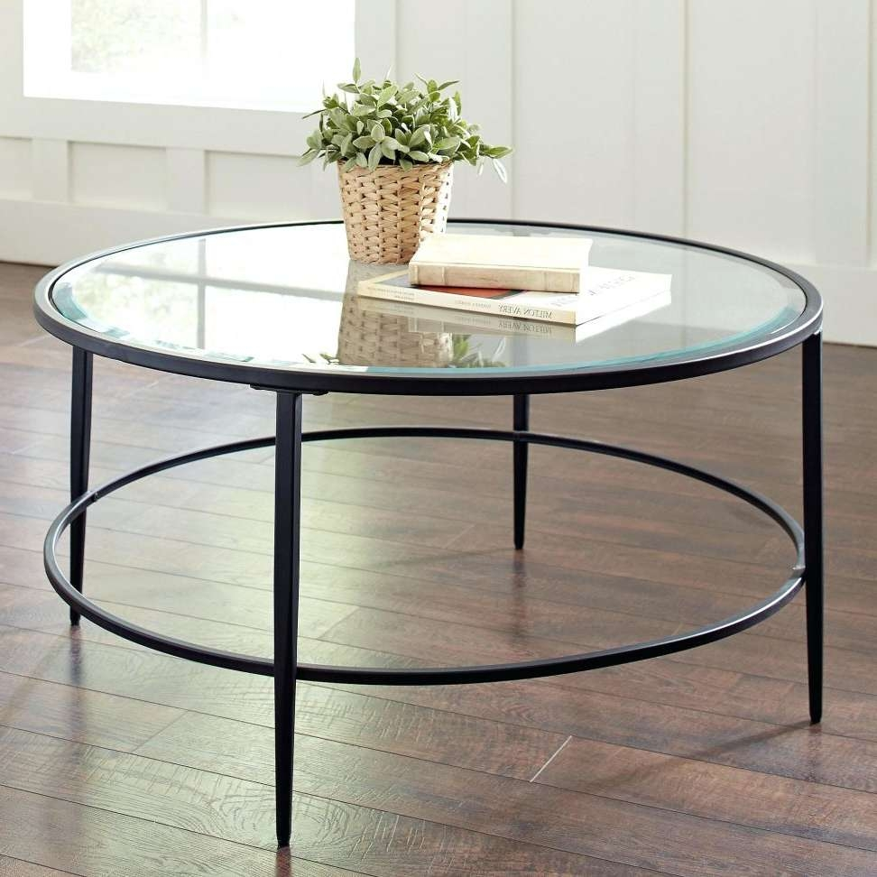 Featured Photo of Glass Circular Coffee Tables