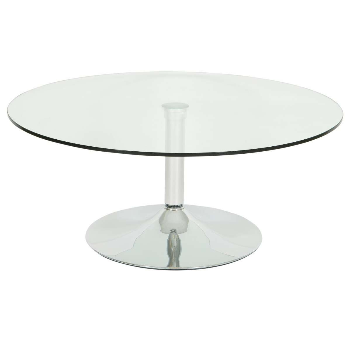 Well Known Glass Circular Coffee Tables Within Coffee Tables Ideas: Fabulous Small Round Glass Coffee Table (View 20 of 20)