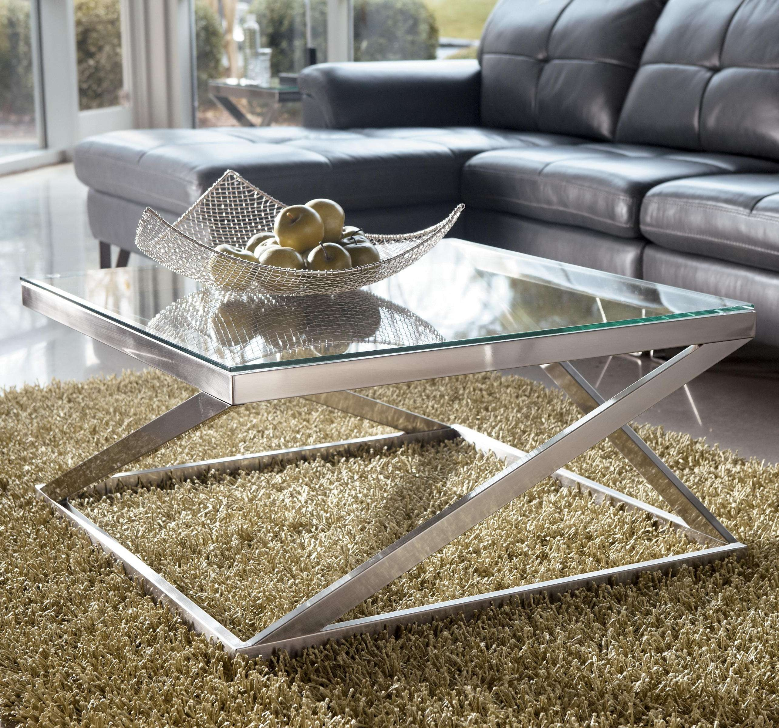Well Known Glass Coffee Tables With Storage Intended For Coffee Table : Amazing Coffee And End Table Sets Square Coffee (View 14 of 20)