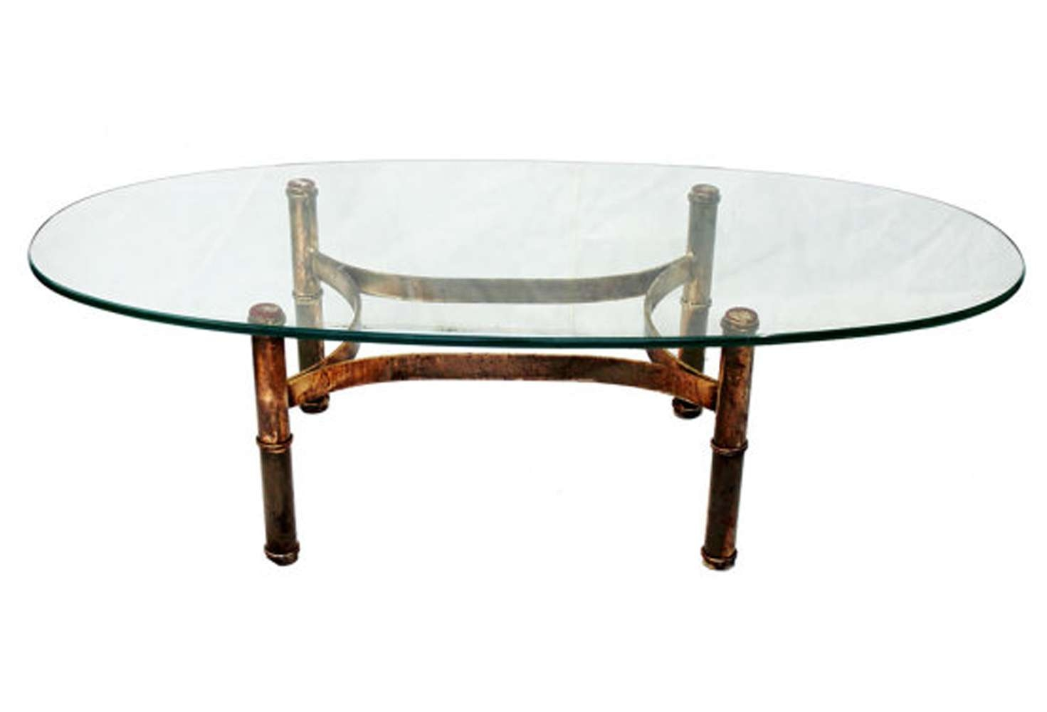 Well Known Gold Bamboo Coffee Tables Pertaining To Gold Metal Bamboo Coffee Table • Coffee Table Design (View 8 of 20)