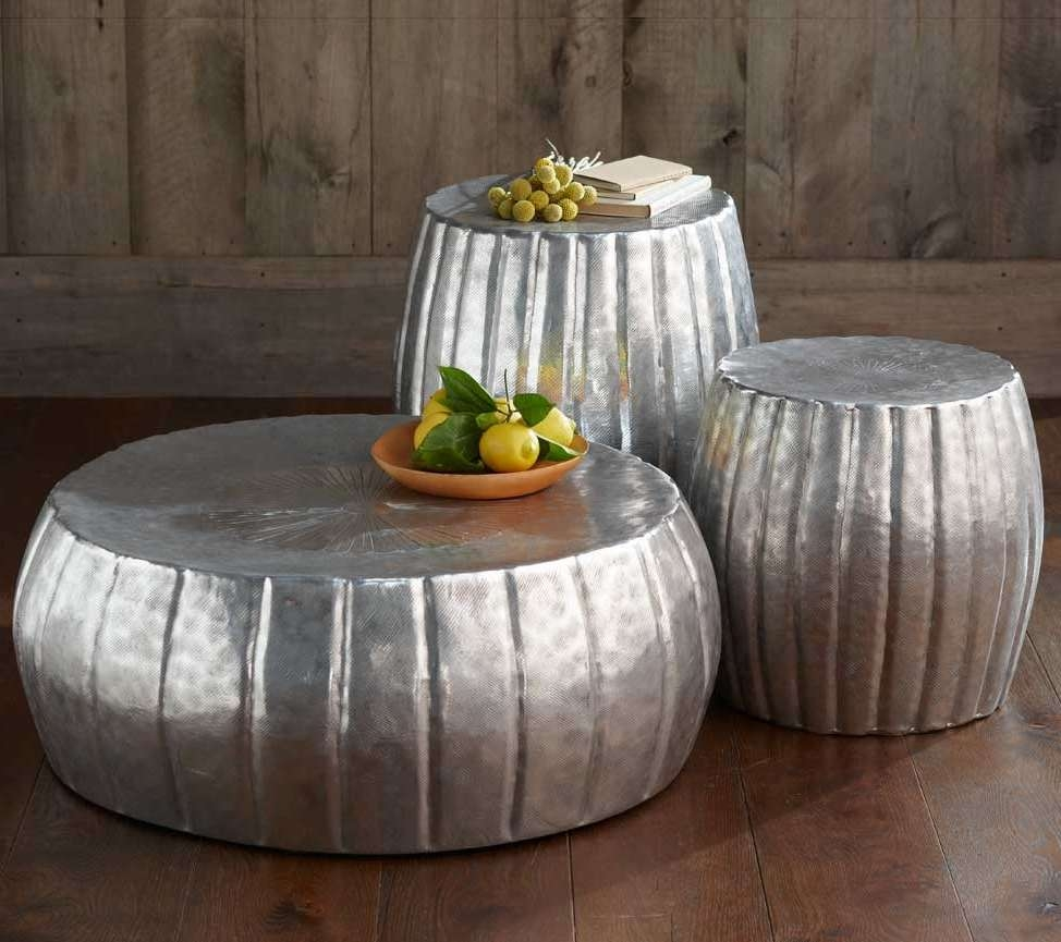 Featured Photo of Hammered Silver Coffee Tables