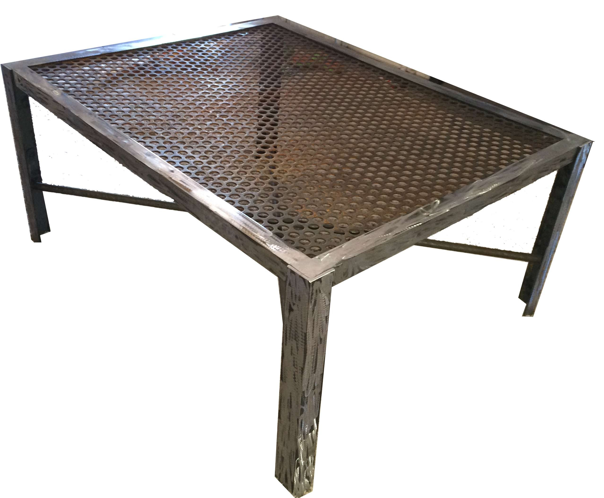 Well Known Industrial Style Coffee Tables With Regard To Coffee Tables Ideas: Phenomenal Industrial Style Coffee Tables On (View 18 of 20)