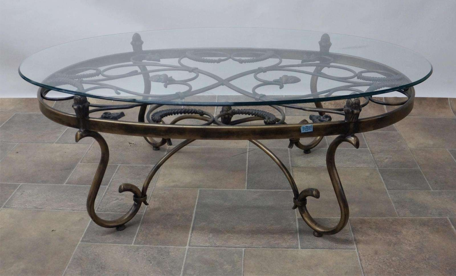 Well Known Iron Glass Coffee Table For Tips To Choose Suitable Wrought Iron And Glass Coffee Tables (View 4 of 20)
