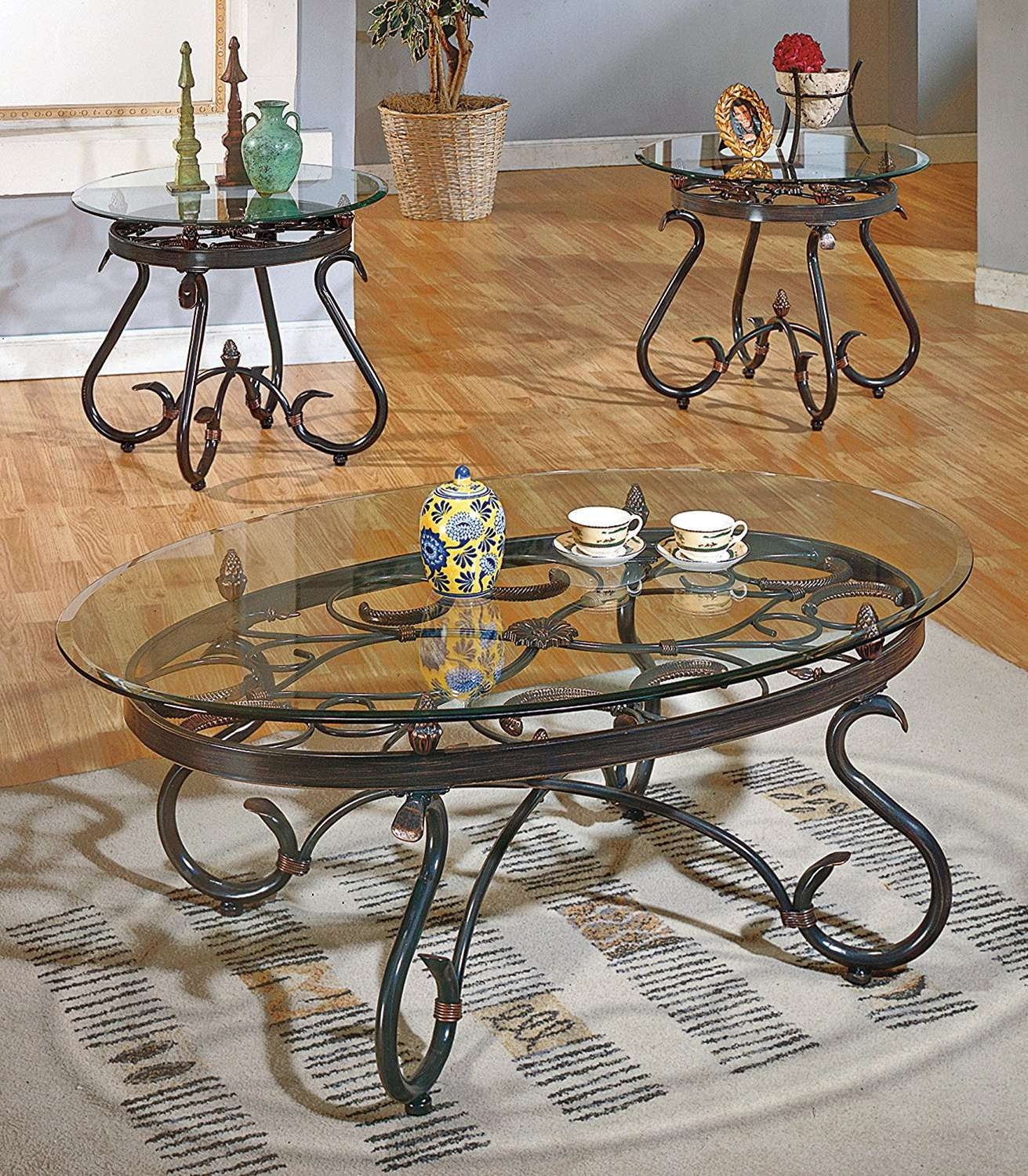 Well Known Iron Glass Coffee Table With Regard To Coffee Table : Amazing Round Gold Coffee Table Iron Glass Coffee (View 10 of 20)