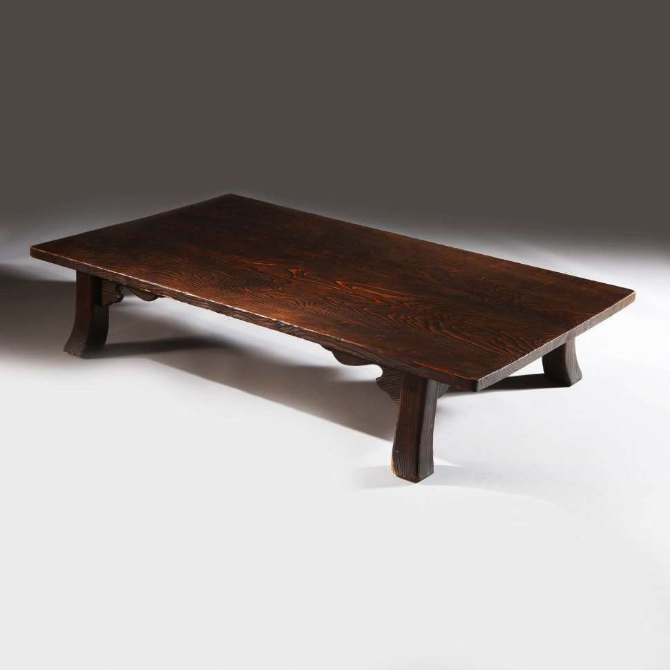 Well Known Large Low Rustic Coffee Tables Within Coffee Table : Magnificent Japanese Low Dining Table Trunk Coffee (View 19 of 20)