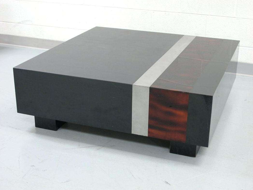 Well Known Low Japanese Style Coffee Tables Intended For Modern Low Coffee Table Nice As Square In Mid Century Japanese (View 18 of 20)