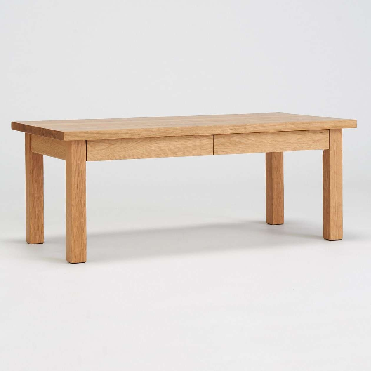 Well Known Low Oak Coffee Tables For Low Table 90x45cm (View 17 of 20)