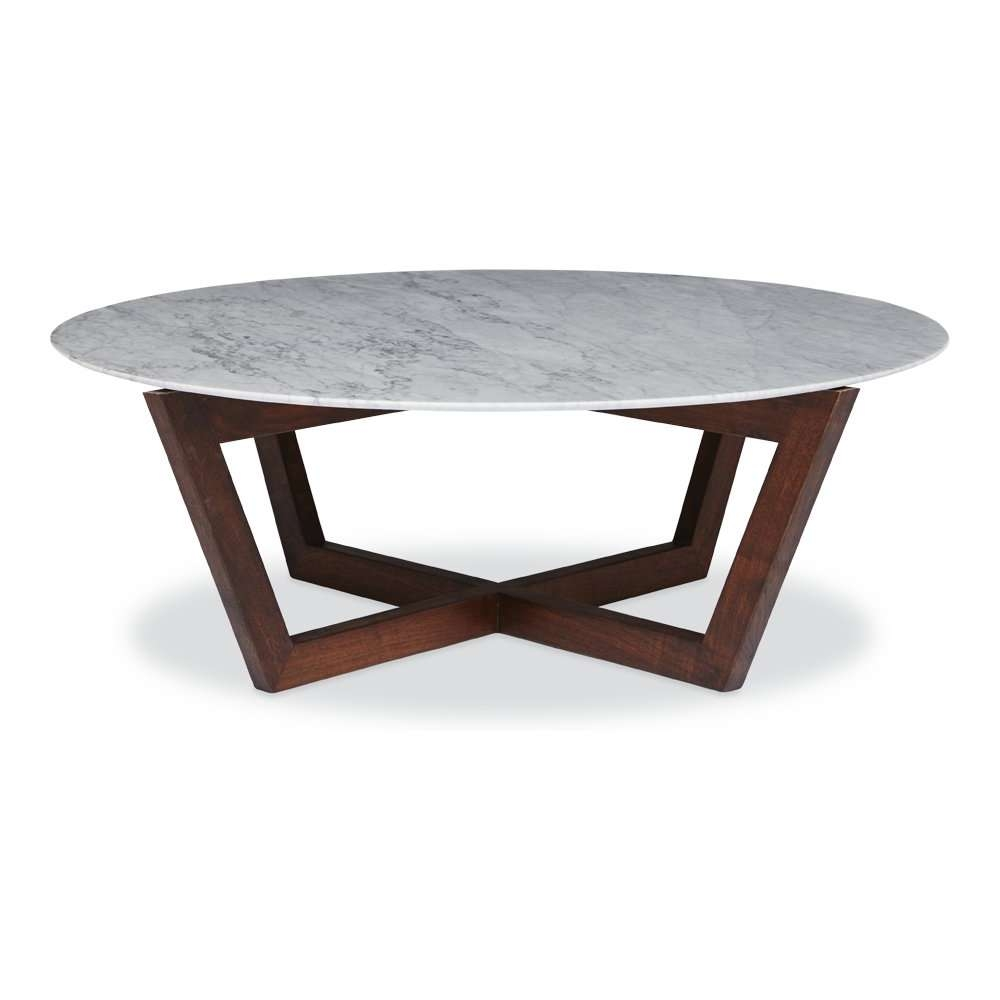 Well Known Marble Round Coffee Tables Within Round Marble Top Coffee Table (View 19 of 20)