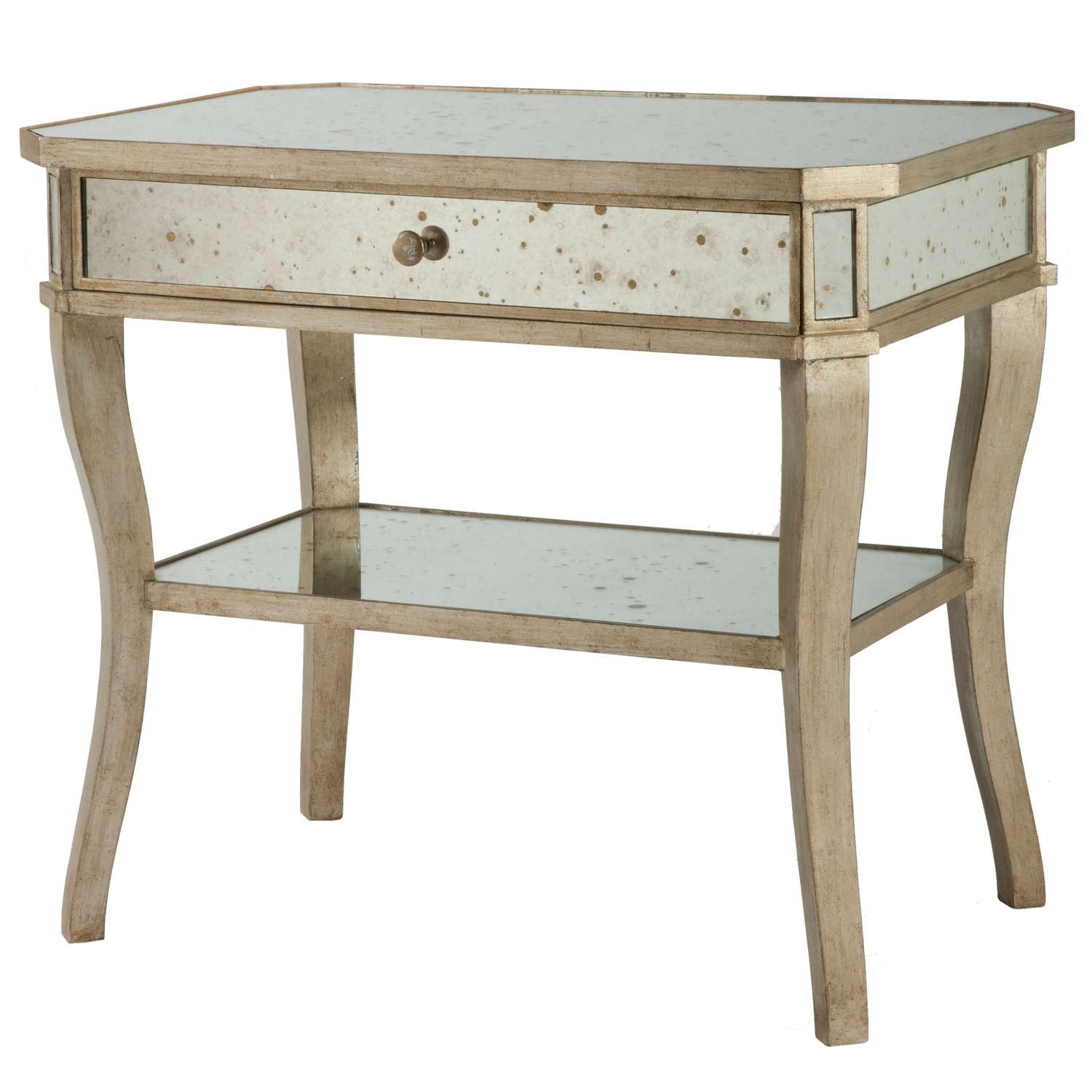 Well Known Mercury Glass Coffee Tables Throughout Top Mercury Glass Side Table 17 Of Enchant Side Tables Ideas With (View 12 of 20)