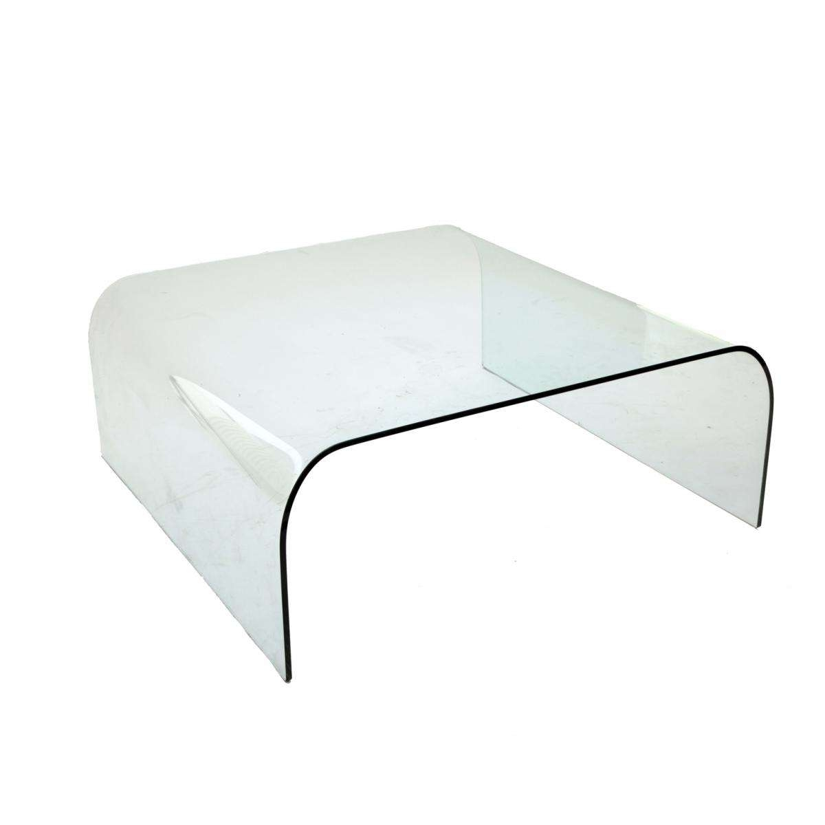 Well Known Modern Glass Coffee Tables Pertaining To Vintage Modern Glass Coffee Tablepietro Chiesa For Fontana (View 10 of 20)