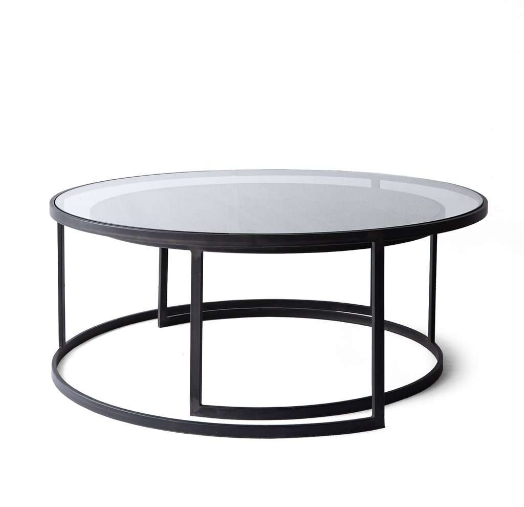 Well Known Nest Coffee Tables Throughout Gray Round Nesting Coffee Tables Zone Hammary Tabl Nesting Coffee (View 19 of 20)