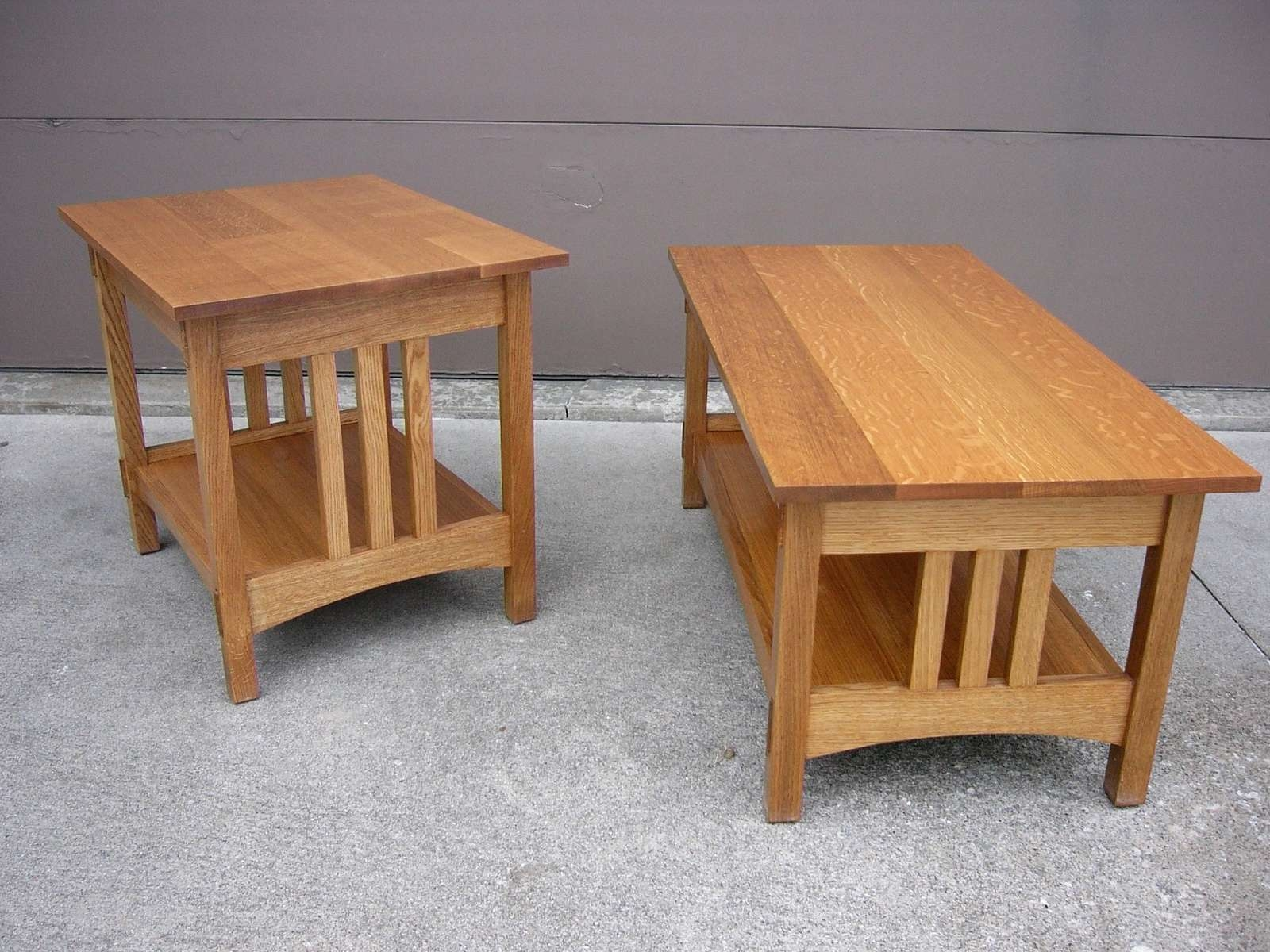 Well Known Oak Coffee Table Sets Within Mission Coffee Table For Simple House Plans – Oak End Tables (View 20 of 20)