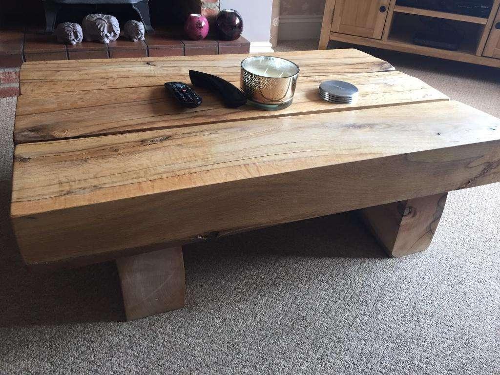 Well Known Oak Sleeper Coffee Tables Inside Oak Sleeper Coffee Table (View 19 of 20)