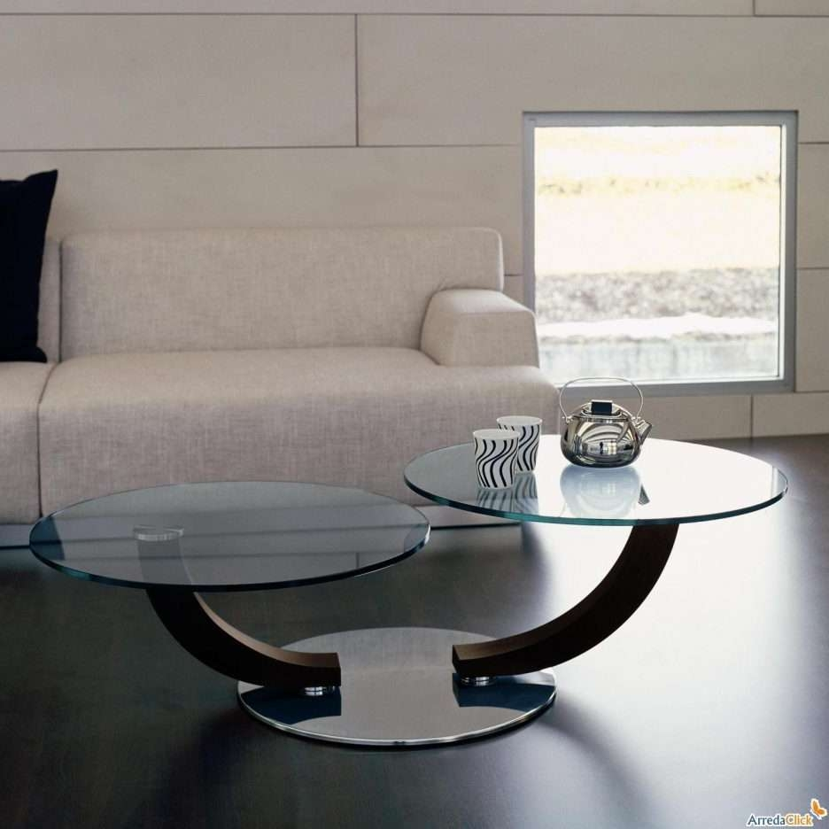 Well Known Round Chrome Coffee Tables Intended For Living Room : Wonderful Round Glass Coffee Table Decorating Ideas (View 18 of 20)