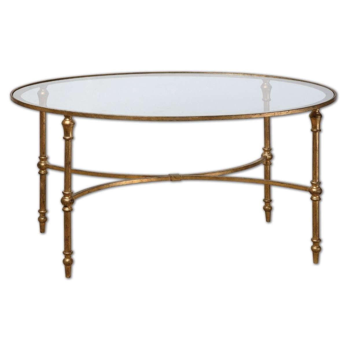 Well Known Round Glass Coffee Tables Inside Coffee Tables : Fashionable Inspiration All Glass Coffee Table (View 20 of 20)