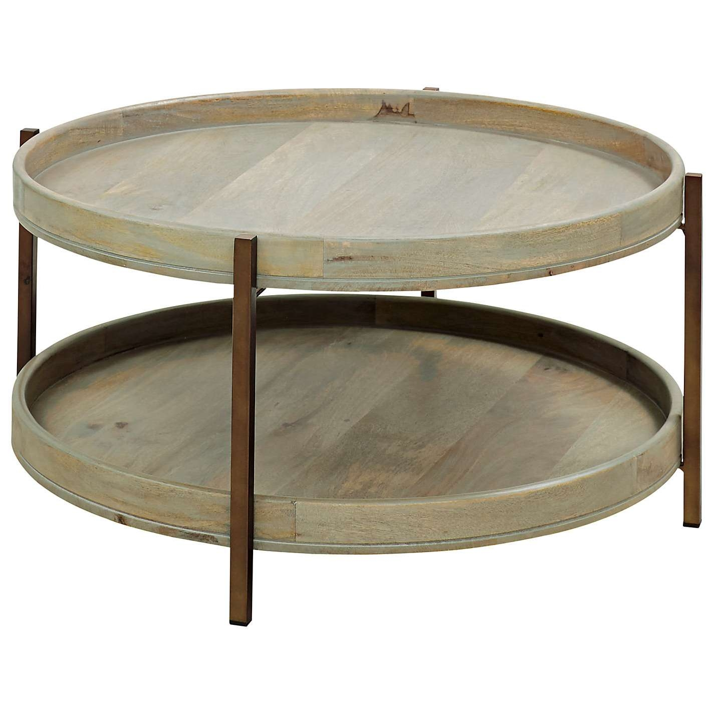 Well Known Round Tray Coffee Tables Within Best Round Trays For Coffee Tables With Coffee Table Wonderful (View 19 of 20)