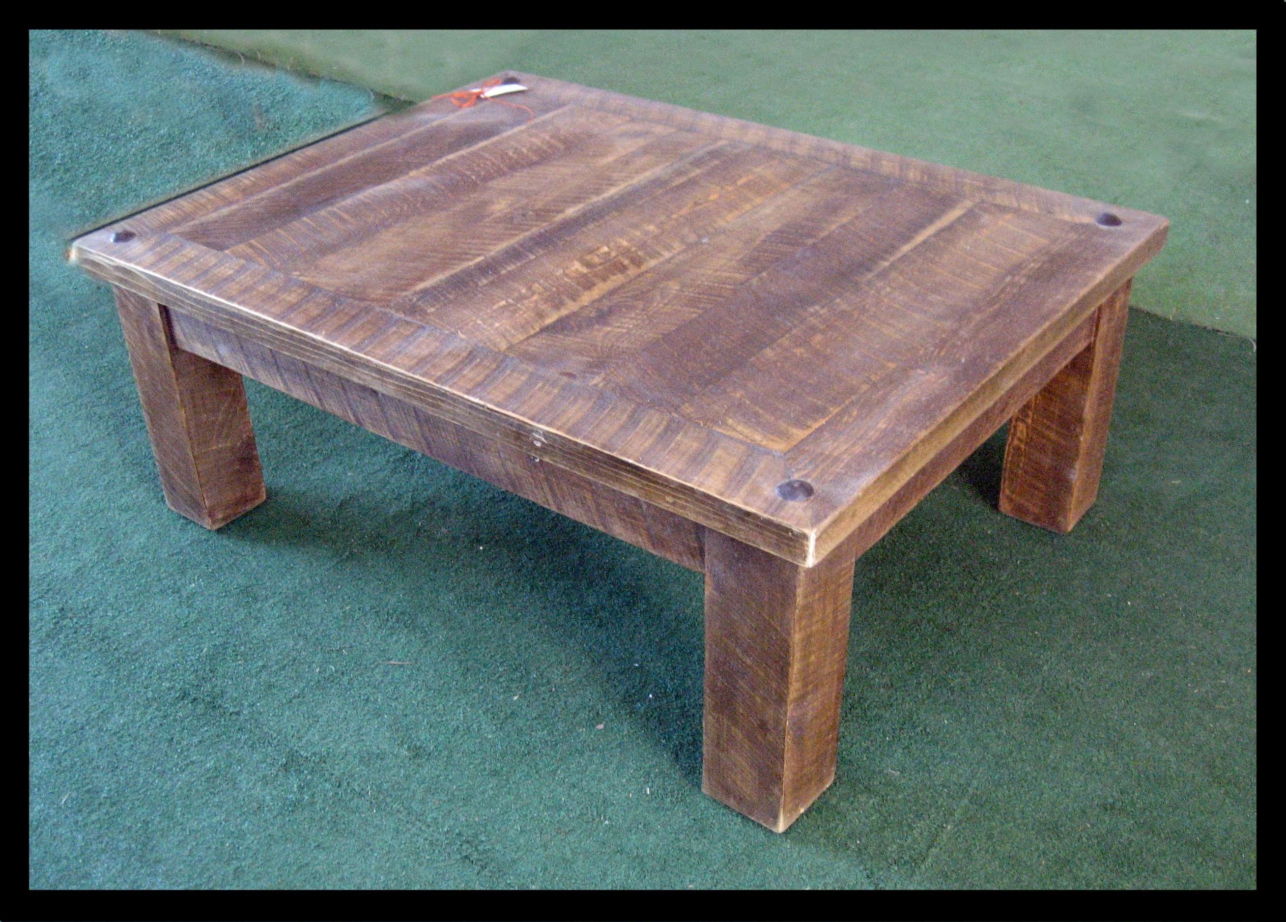 Well Known Rustic Barnwood Coffee Tables Within Rustic Barnwood Coffee Table – Amazing Home Design (View 19 of 20)