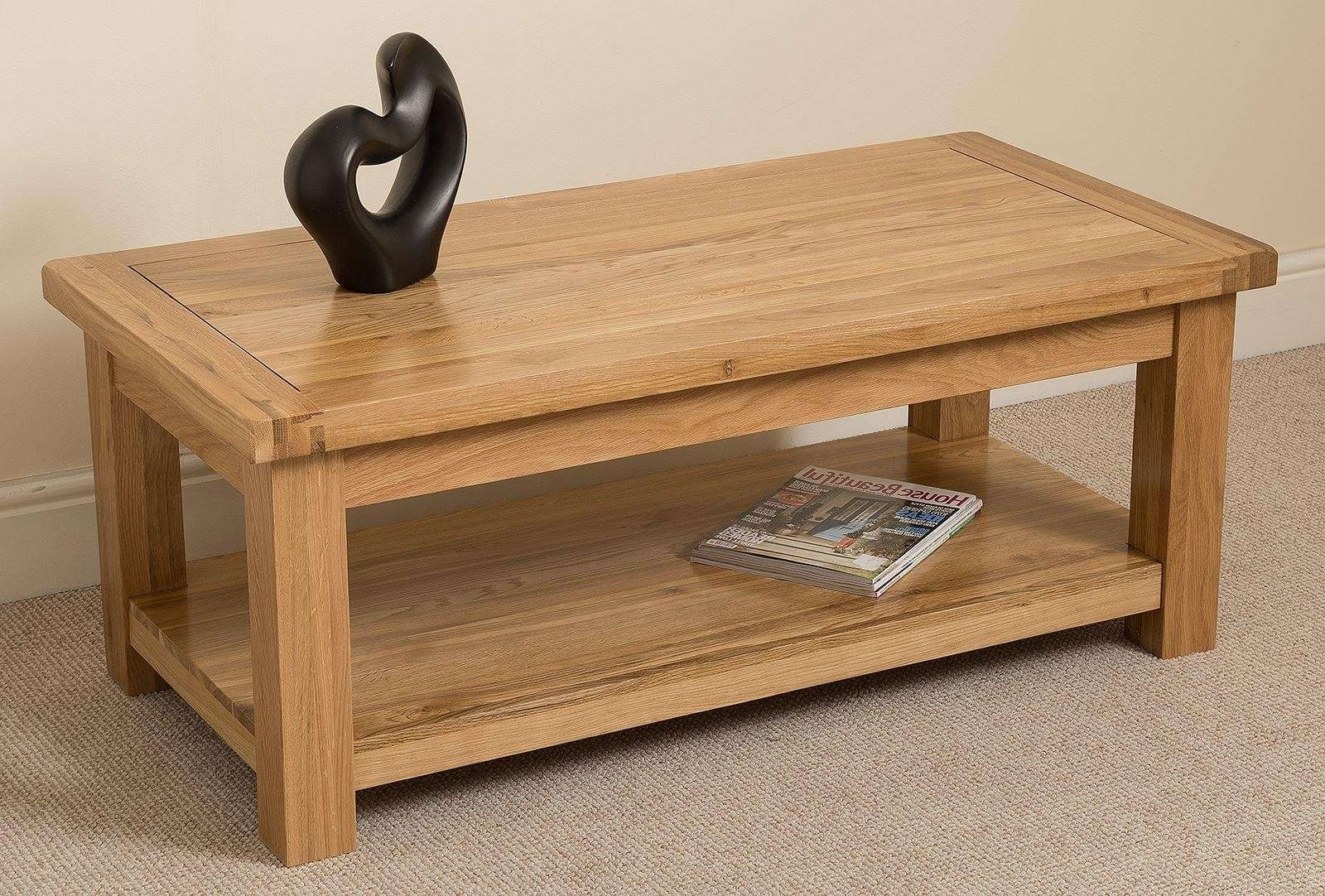 20 Photos Solid Oak Coffee Tables