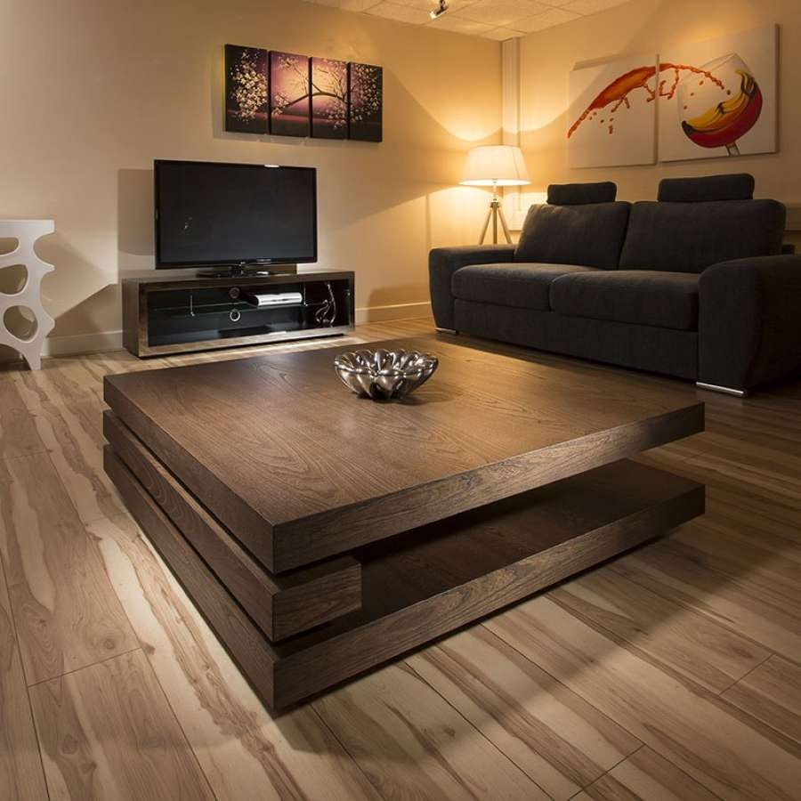 Well Known Square Dark Wood Coffee Tables For Dark Wood Coffee Table – Writehookstudio (View 8 of 20)