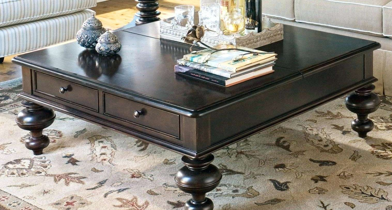 Well Known Square Shaped Coffee Tables With Regard To Square Shaped Coffee Table – Thewkndedit (View 4 of 20)