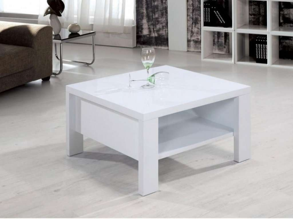 Well Known Square White Coffee Tables Inside Furniture: White Wood Coffee Table Fresh Coffee Table Marvellous (View 18 of 20)