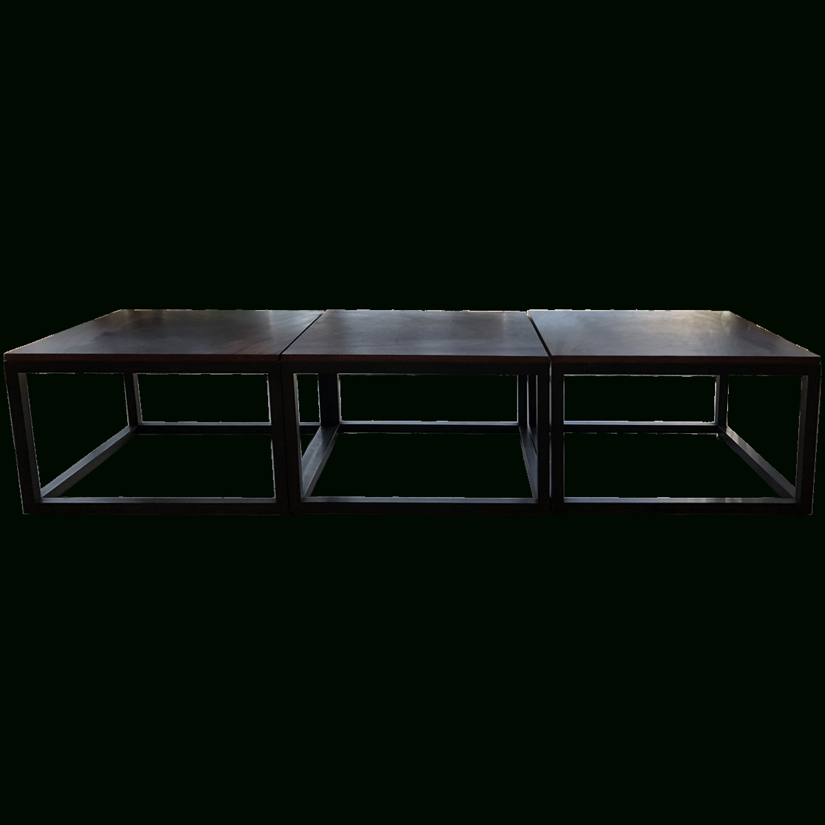 Well Known White Cube Coffee Tables Throughout Viyet – Designer Furniture – Tables – Industrial Wood And Steel (View 19 of 20)