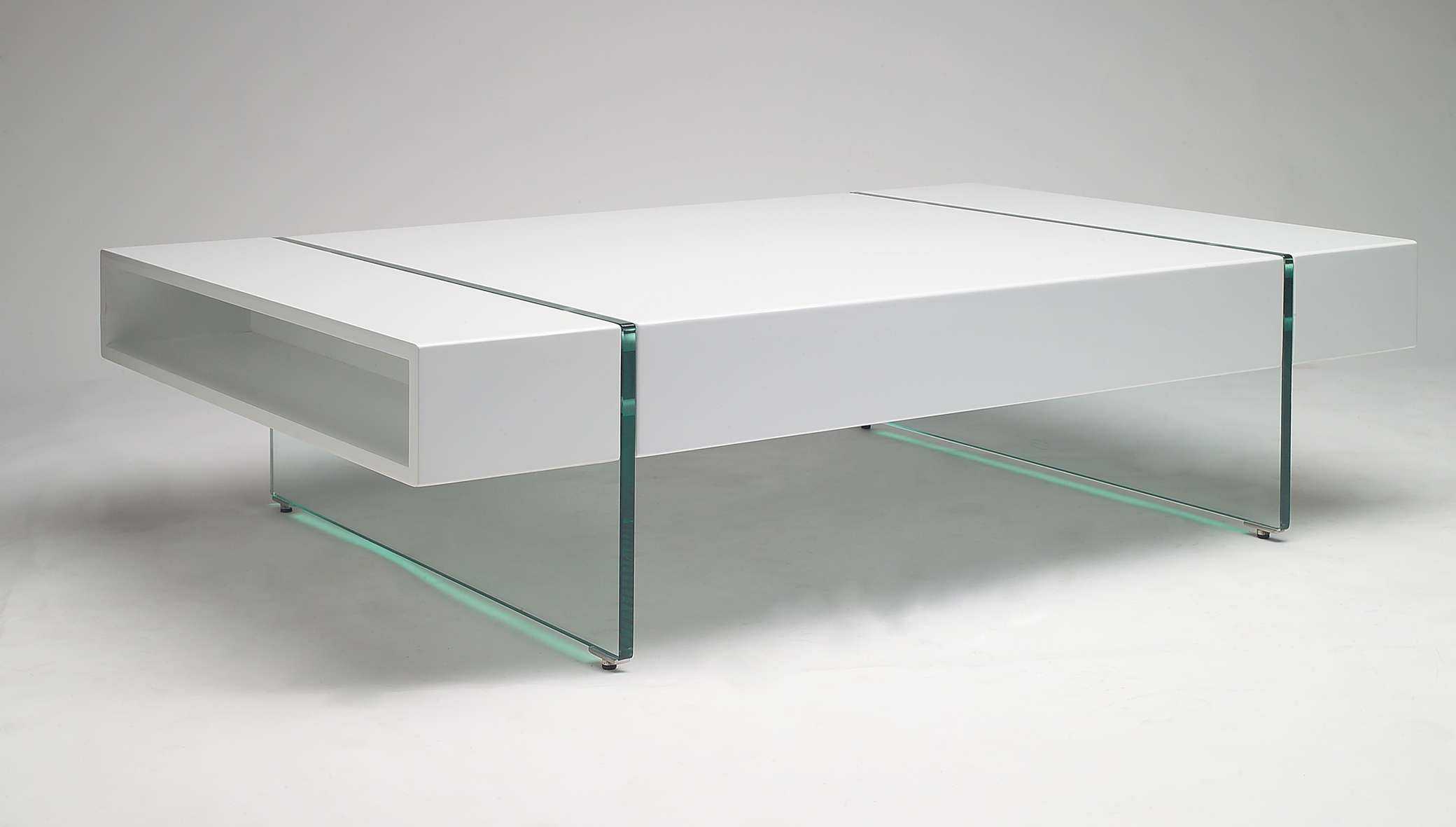 Well Known White Wood And Glass Coffee Tables Regarding Round Glass Glass And White Wood Coffee Table Table Set Glass And (View 13 of 20)