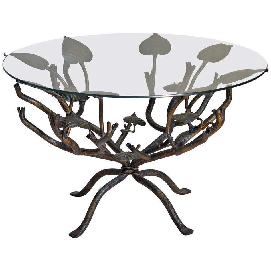 Well Known Wrought Iron Coffee Tables For Coffee Table : Wrought Iron Coffee Table Legs Models Tables Bases (View 15 of 20)