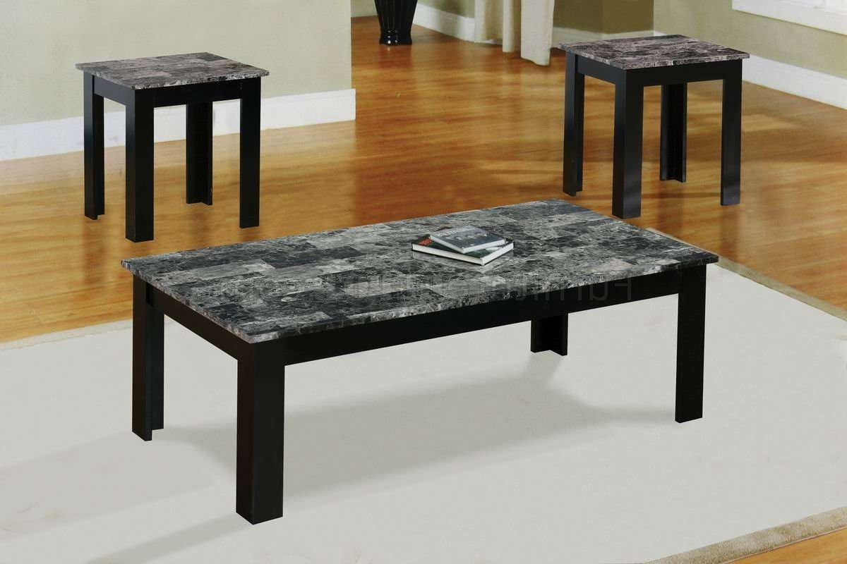 Featured Photo of Black And Grey Marble Coffee Tables