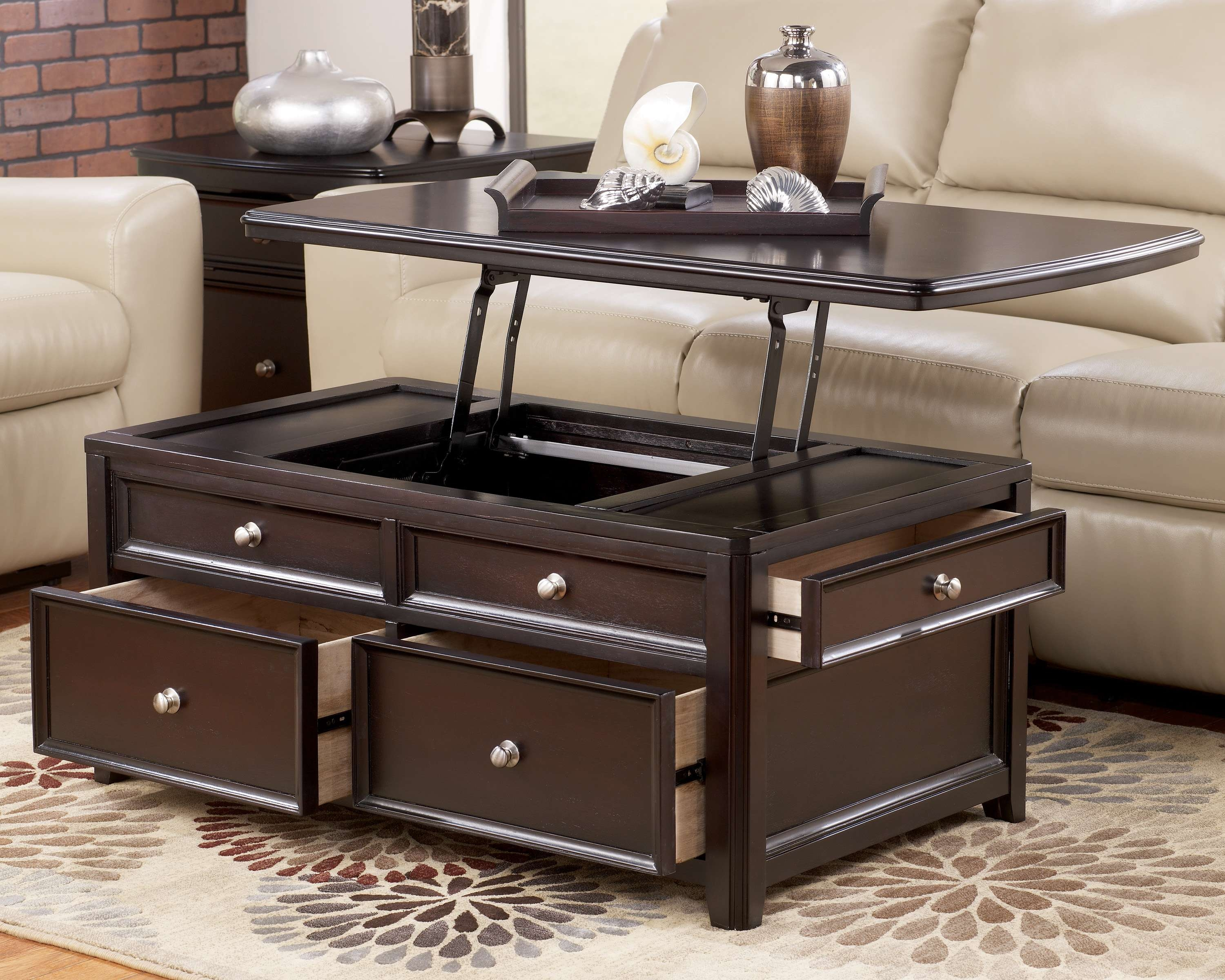 Well Liked Coffee Table With Raised Top Inside Coffee Table With Lift Top Ikea – Unac (View 19 of 20)