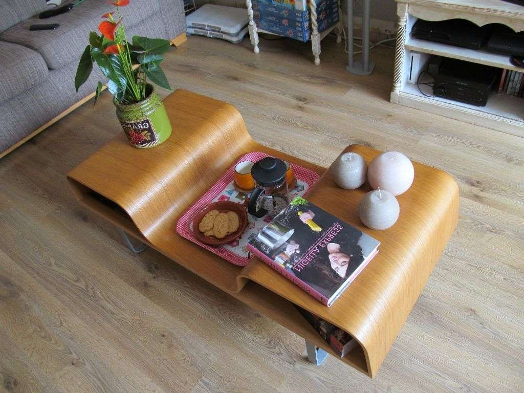 Well Liked Curve Coffee Tables Throughout Ikea Lagfors Bentwood Retro Style Coffee Table Storage Bent Wood (View 20 of 20)
