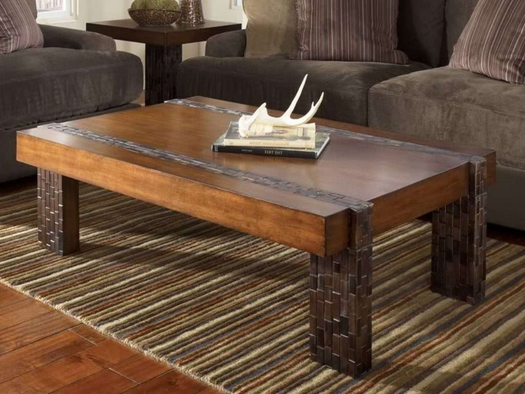 Well Liked Elegant Rustic Coffee Tables Throughout Square Reclaimed Wood Coffee Table – Writehookstudio (View 20 of 20)