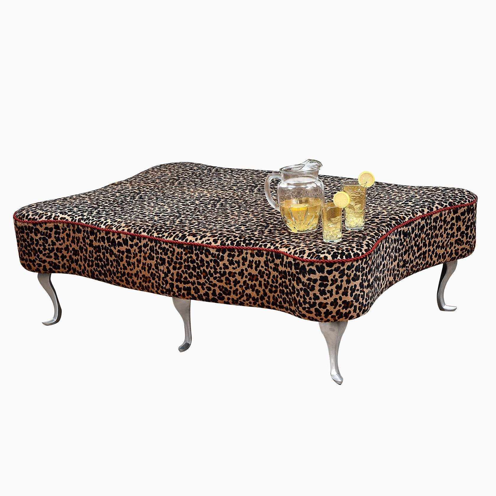 Featured Photo of Leopard Ottoman Coffee Tables