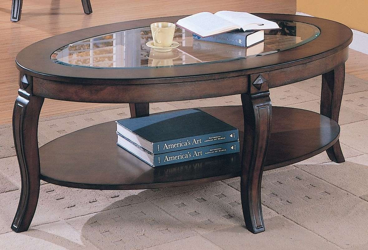 Well Liked Metal Oval Coffee Tables With Regard To Oval Glass Coffee Table Metal Frame – Oval Glass Coffee Table (View 20 of 20)