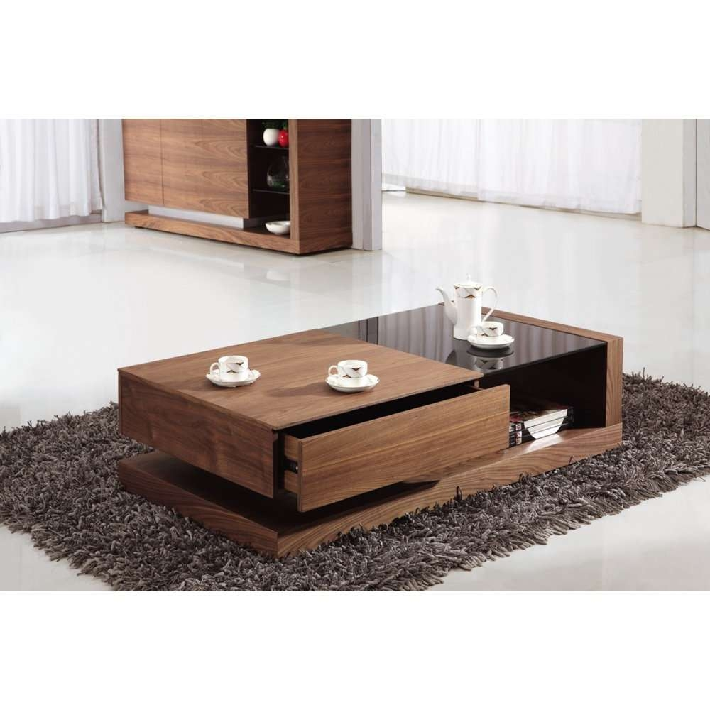 Well Liked Modern Coffee Tables With Storage In Coffee Tables : Simple Square Ottoman Coffee Table With Storage (View 7 of 20)