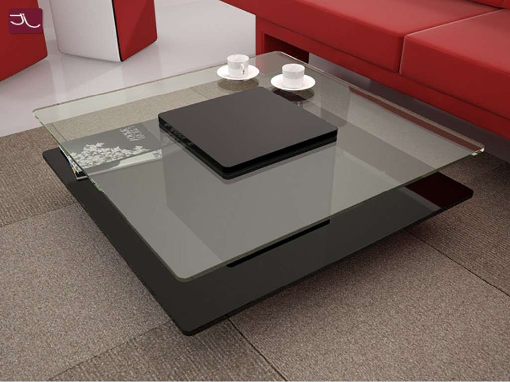 Well Liked Modern Square Gl Coffee Tables With Regard To Table Contemporary