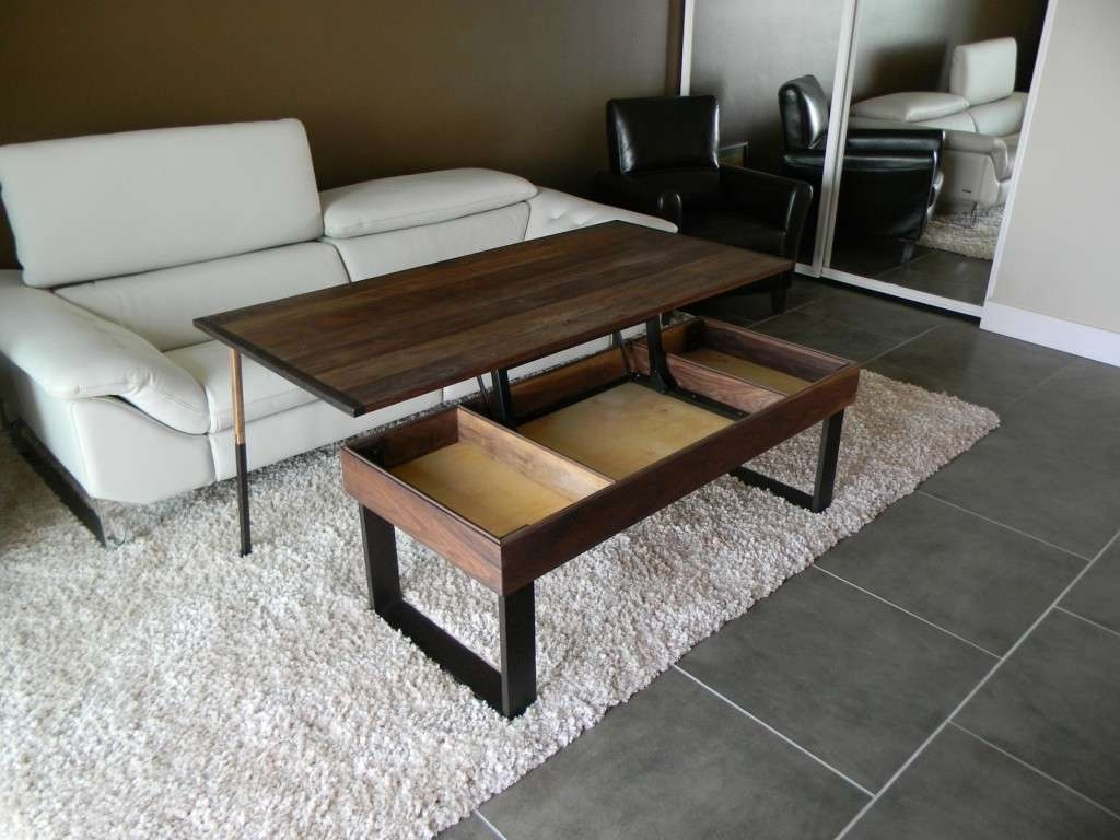 Well Liked Opens Up Coffee Tables With Regard To Adjustable Height Coffee Table With Storage Adjustable Cafe Table (View 20 of 20)