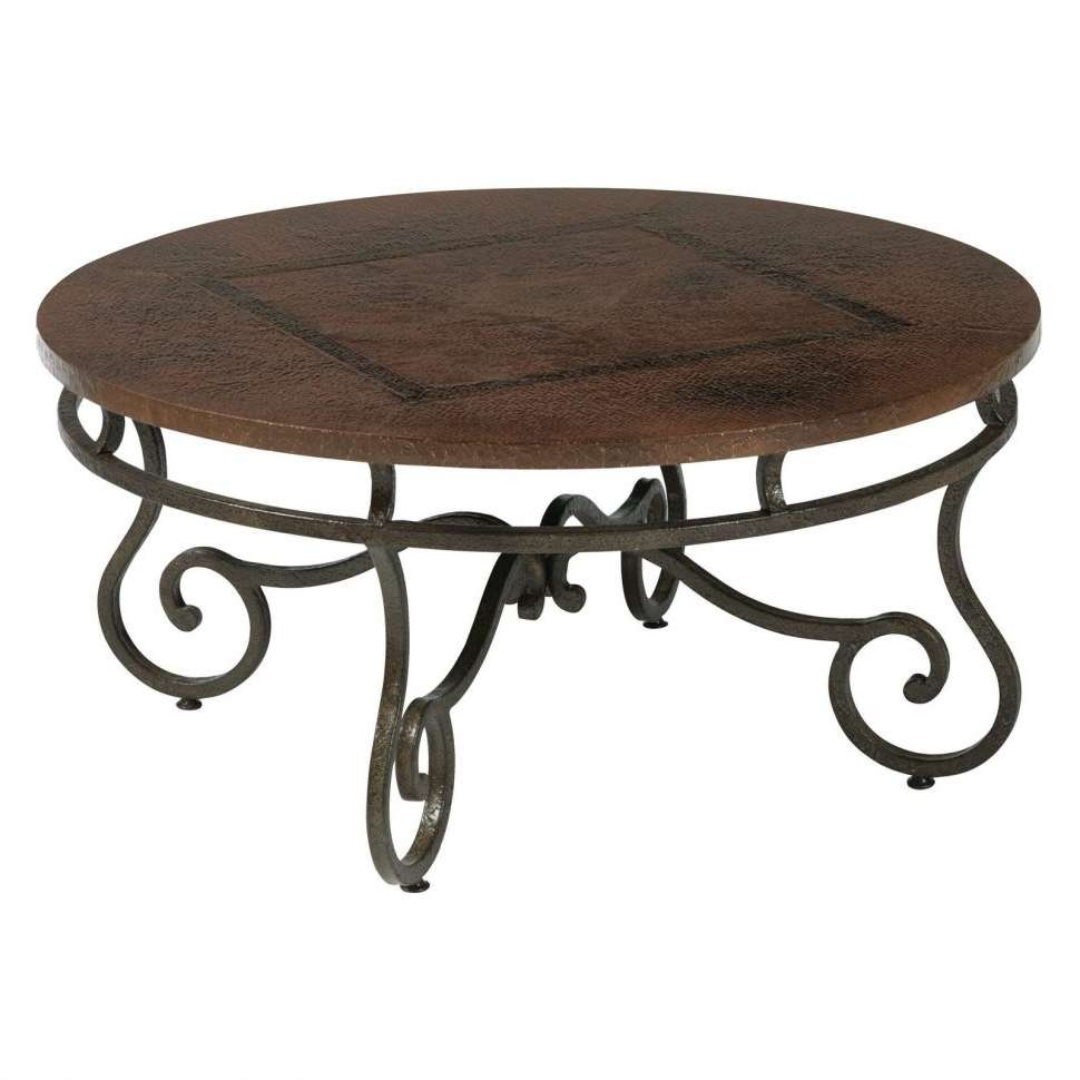 Well Liked Round Glass And Wood Coffee Tables Intended For Coffee Tables : Wood Top Coffee Table Reclaimed Distressed Round (View 20 of 20)