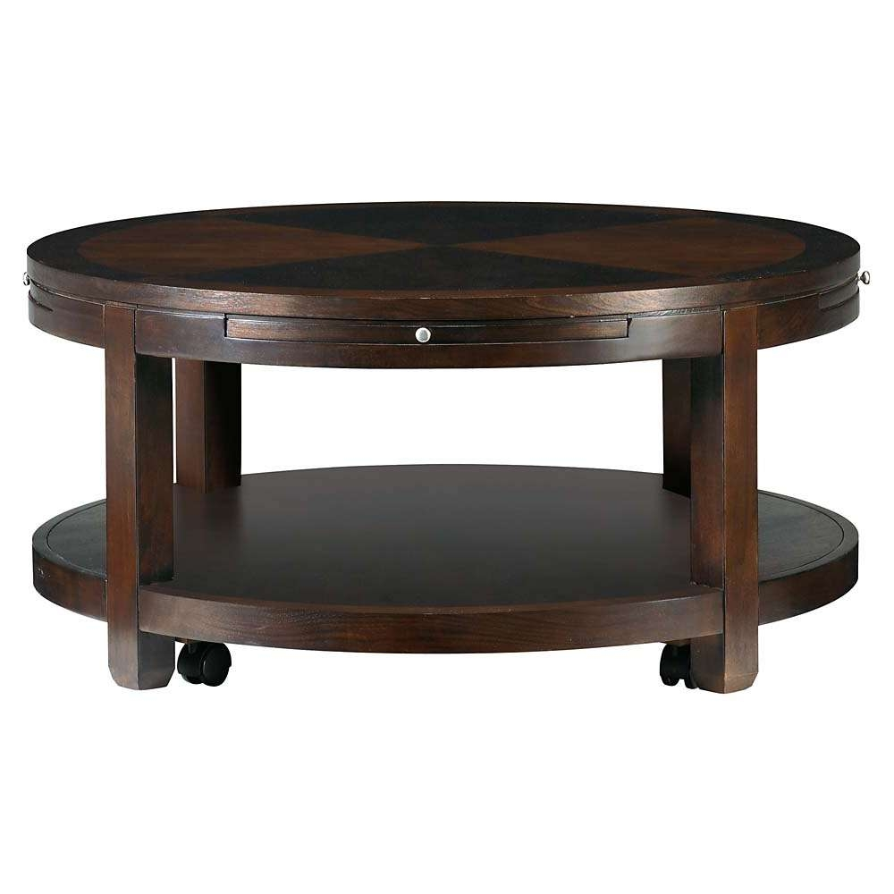 Well Liked Small Circular Coffee Table Pertaining To Redin Park Round Cocktail Table (View 8 of 20)